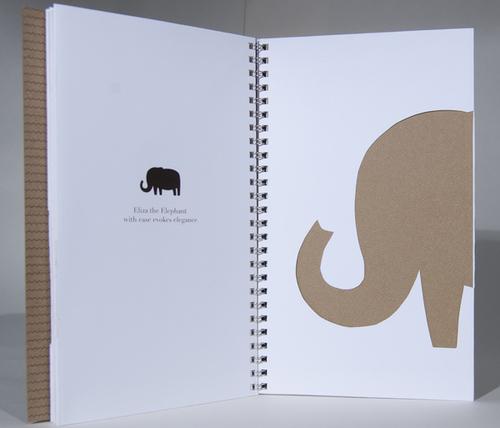 serengeti paper sample book becca dunn design